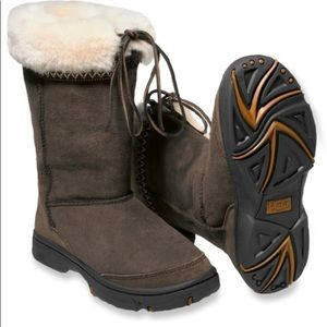 UGG Chocolate Brown Ultimate Cuff Boots